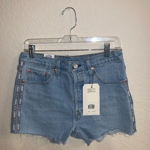 NWT Levi's 501 High Rise Shorts Size 30